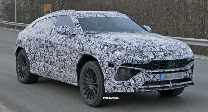 SPIED: Lamborghini Urus SUV to stay true to concept Image #614544