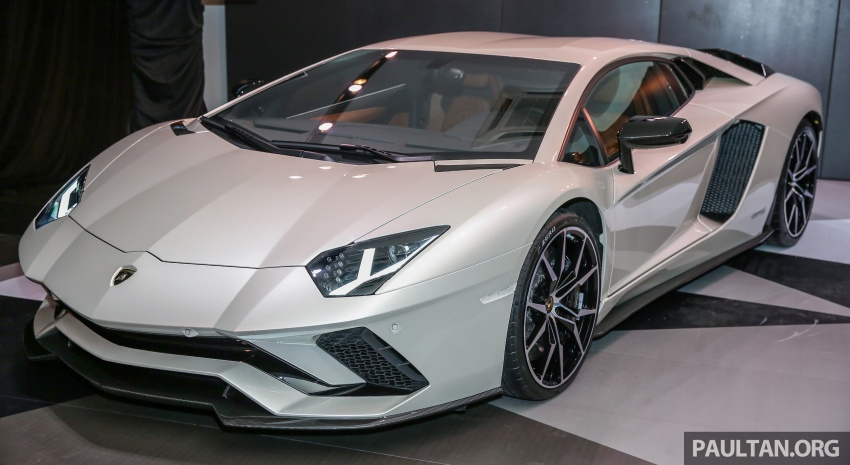 Lamborghini Aventador S launched in Malaysia, from RM1.8mil – 6.5L V12, 740 hp, 0-100 km/h in 2.9 s Image #619258