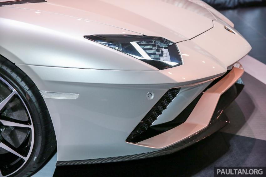 Lamborghini Aventador S masuk pasaran Malaysia – enjin 6.5L V12, 740 hp kuasa, harga bermula RM1.8 juta Image #619532