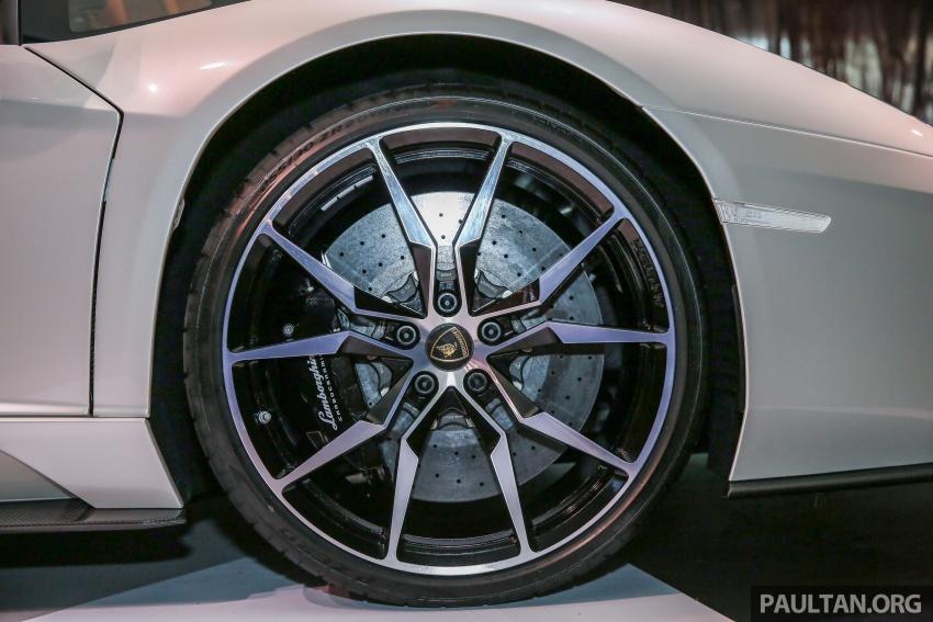 Lamborghini Aventador S masuk pasaran Malaysia – enjin 6.5L V12, 740 hp kuasa, harga bermula RM1.8 juta Image #619538