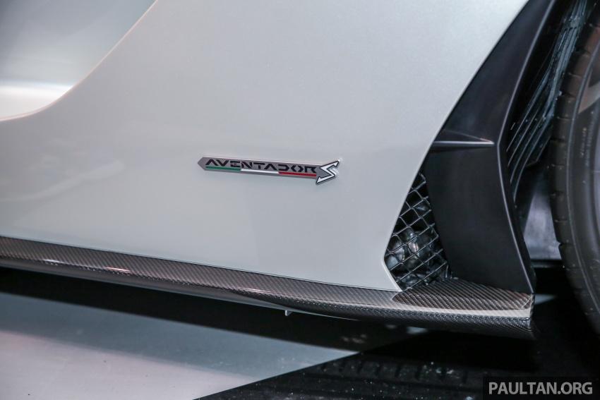 Lamborghini Aventador S masuk pasaran Malaysia – enjin 6.5L V12, 740 hp kuasa, harga bermula RM1.8 juta Image #619542