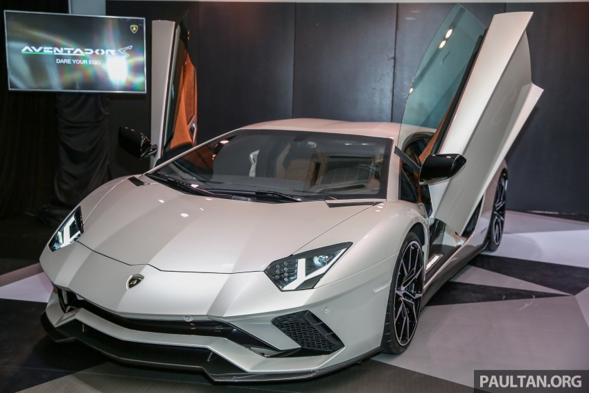 Lamborghini Aventador S launched in Malaysia, from RM1.8mil – 6.5L V12, 740 hp, 0-100 km/h in 2.9 s Image #619259