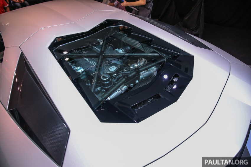 Lamborghini Aventador S launched in Malaysia, from RM1.8mil – 6.5L V12, 740 hp, 0-100 km/h in 2.9 s Image #619280