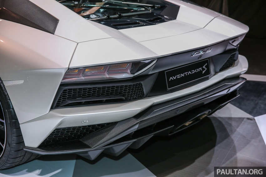 Lamborghini Aventador S launched in Malaysia, from RM1.8mil – 6.5L V12, 740 hp, 0-100 km/h in 2.9 s Image #619281