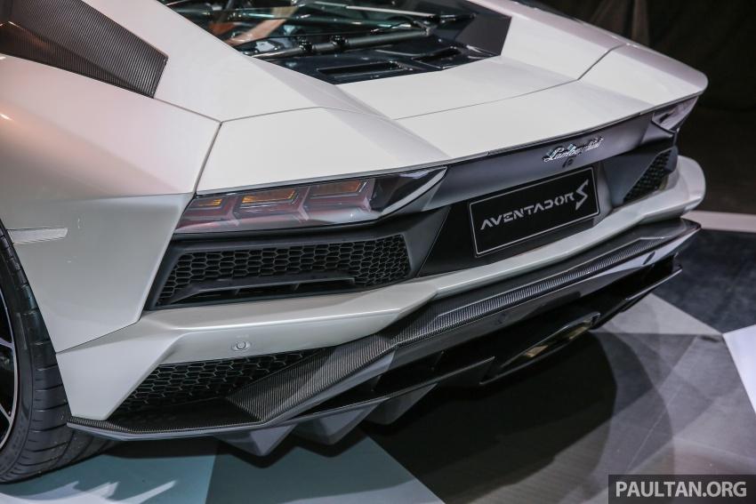 Lamborghini Aventador S masuk pasaran Malaysia – enjin 6.5L V12, 740 hp kuasa, harga bermula RM1.8 juta Image #619545