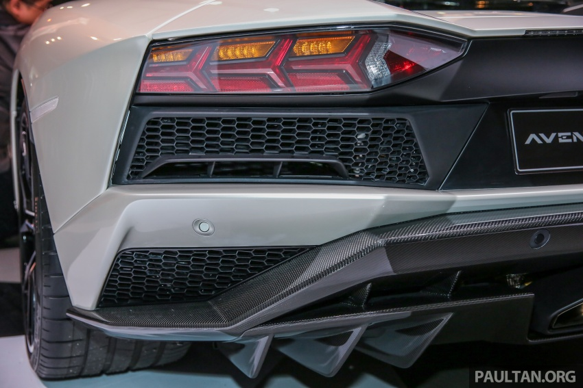 Lamborghini Aventador S launched in Malaysia, from RM1.8mil – 6.5L V12, 740 hp, 0-100 km/h in 2.9 s Image #619283