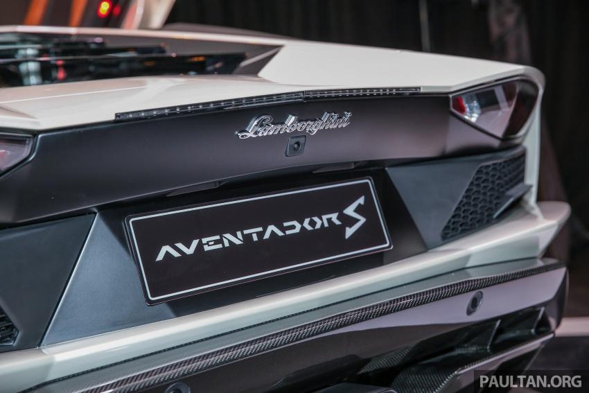 Lamborghini Aventador S masuk pasaran Malaysia – enjin 6.5L V12, 740 hp kuasa, harga bermula RM1.8 juta Image #619548