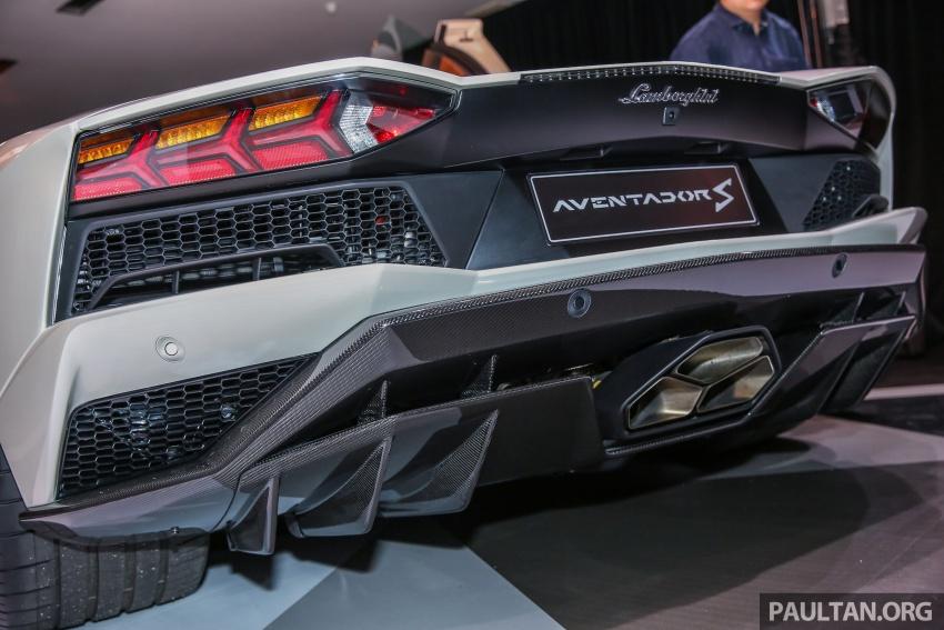 Lamborghini Aventador S masuk pasaran Malaysia – enjin 6.5L V12, 740 hp kuasa, harga bermula RM1.8 juta Image #619549