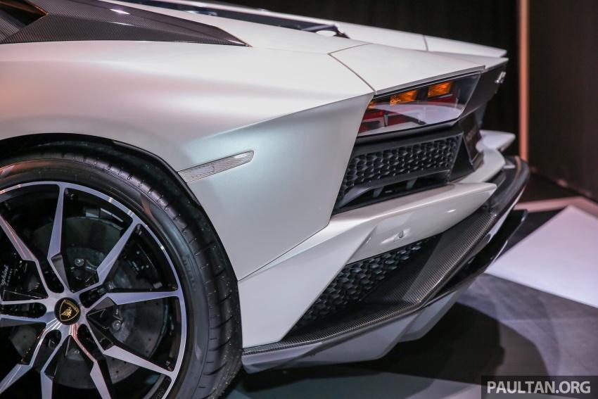 Lamborghini Aventador S masuk pasaran Malaysia – enjin 6.5L V12, 740 hp kuasa, harga bermula RM1.8 juta Image #619551