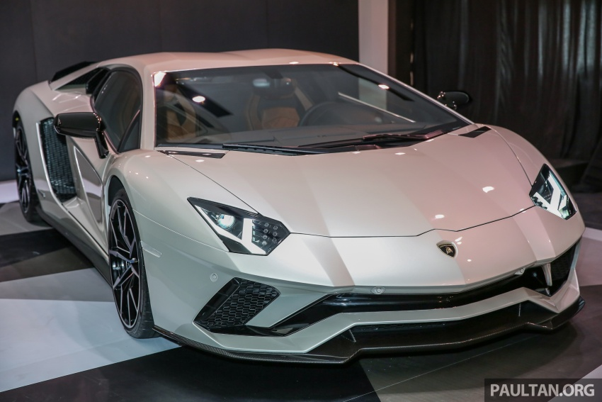 Lamborghini Aventador S launched in Malaysia, from RM1.8mil – 6.5L V12, 740 hp, 0-100 km/h in 2.9 s Image #619260