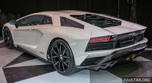 Lamborghini Aventador S Launched In Malaysia From Rm1