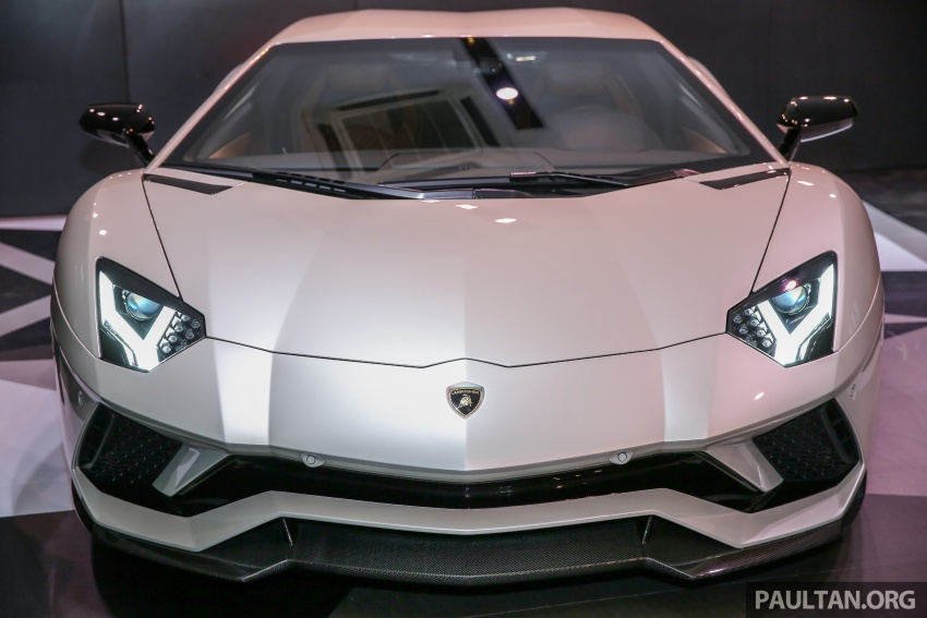 Lamborghini Aventador S launched in Malaysia, from RM1.8mil – 6.5L V12, 740 hp, 0-100 km/h in 2.9 s Image #619263
