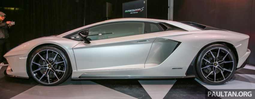 Lamborghini Aventador S launched in Malaysia, from RM1.8mil – 6.5L V12, 740 hp, 0-100 km/h in 2.9 s Image #619264