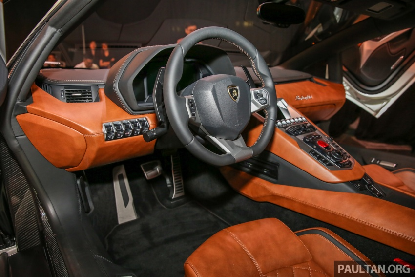 Lamborghini Aventador S launched in Malaysia, from RM1.8mil – 6.5L V12, 740 hp, 0-100 km/h in 2.9 s Image #619294