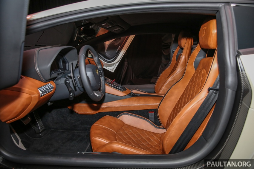 Lamborghini Aventador S launched in Malaysia, from RM1.8mil – 6.5L V12, 740 hp, 0-100 km/h in 2.9 s Image #619315