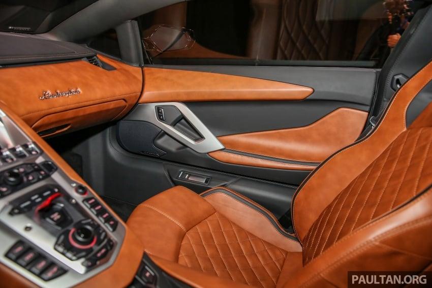 Lamborghini Aventador S masuk pasaran Malaysia – enjin 6.5L V12, 740 hp kuasa, harga bermula RM1.8 juta Image #619574