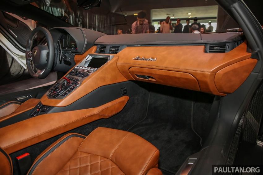 Lamborghini Aventador S masuk pasaran Malaysia – enjin 6.5L V12, 740 hp kuasa, harga bermula RM1.8 juta Image #619576