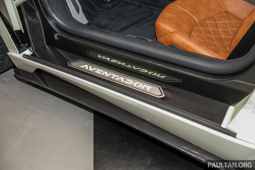 Lamborghini Aventador S masuk pasaran Malaysia – enjin 6.5L V12, 740 hp kuasa, harga bermula RM1.8 juta Image #619578
