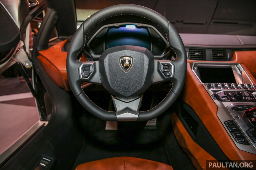 Lamborghini Aventador S launched in Malaysia, from RM1.8mil – 6.5L V12, 740 hp, 0-100 km/h in 2.9 s Image #619296
