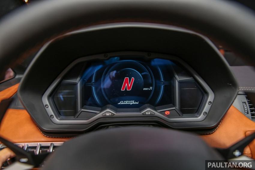 Lamborghini Aventador S masuk pasaran Malaysia – enjin 6.5L V12, 740 hp kuasa, harga bermula RM1.8 juta Image #619561