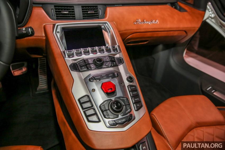 Lamborghini Aventador S masuk pasaran Malaysia – enjin 6.5L V12, 740 hp kuasa, harga bermula RM1.8 juta Image #619562