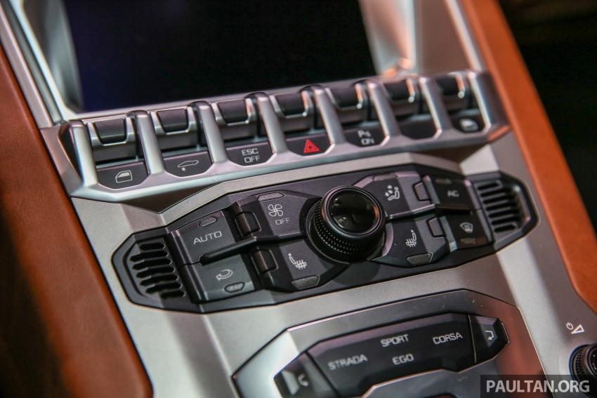 Lamborghini Aventador S masuk pasaran Malaysia – enjin 6.5L V12, 740 hp kuasa, harga bermula RM1.8 juta Image #619567
