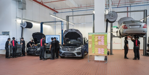 Mercedes benz advance modern apprenticeship programme for Mercedes benz service advisor salary