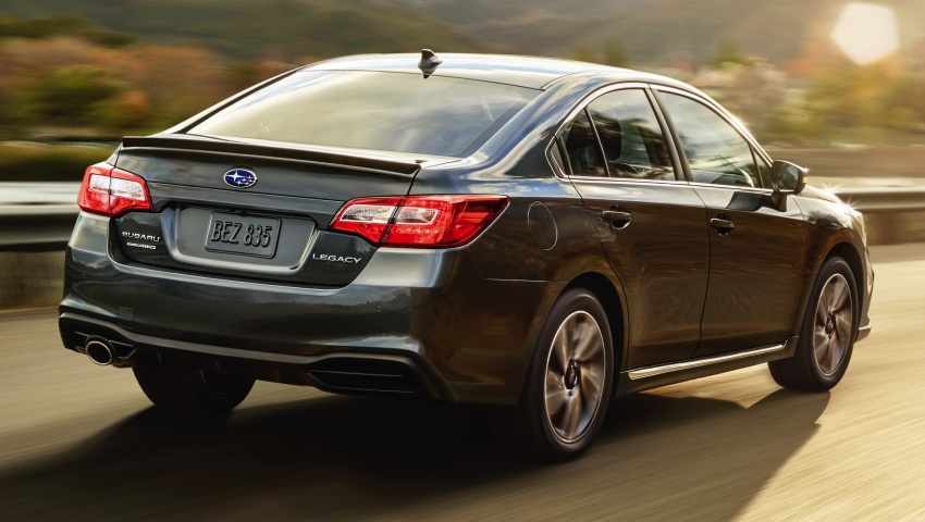 2018 Subaru Legacy facelift shown – now more refined Image #610894