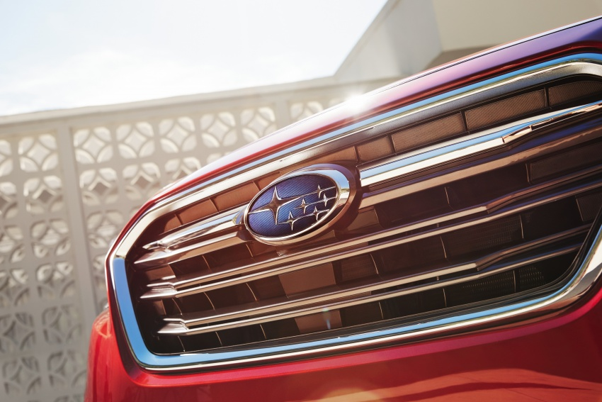 2018 Subaru Legacy facelift shown – now more refined Image #610895