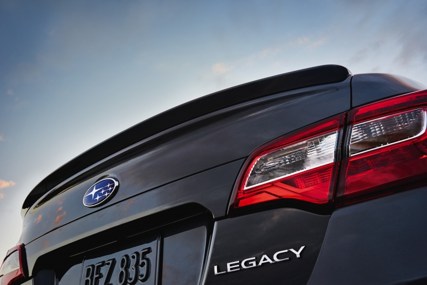 2018 Subaru Legacy facelift shown – now more refined Image #610897