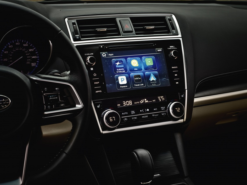 2018 Subaru Legacy facelift shown – now more refined Image #610903