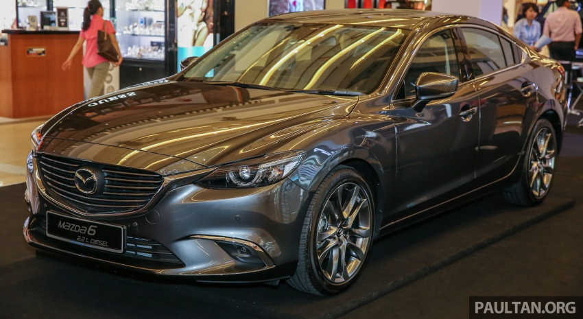 2017 Mazda 6 on sale in Malaysia – adds G-Vectoring Control, RM6,553 more expensive across the range Image #615747