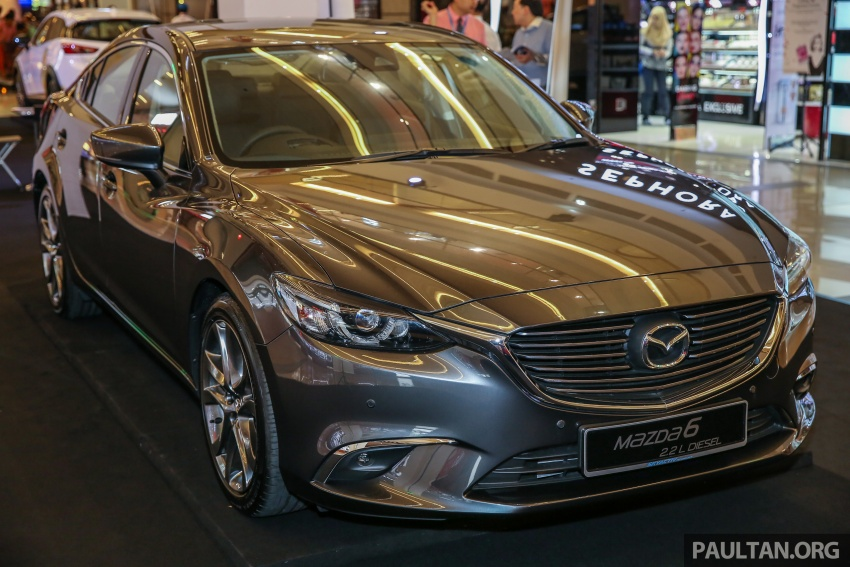 2017 Mazda 6 on sale in Malaysia – adds G-Vectoring Control, RM6,553 more expensive across the range Image #615749