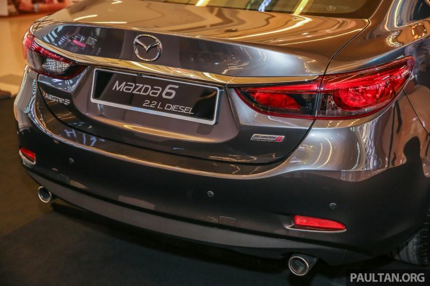 Mazda 6 2017 tiba di Malaysia – dapat tambahan sistem G-Vectoring Control, harga meningkat RM6,553 Image #615934