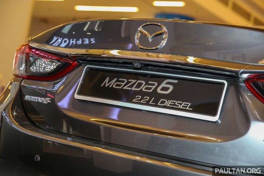 2017 Mazda 6 on sale in Malaysia – adds G-Vectoring Control, RM6,553 more expensive across the range Image #615773