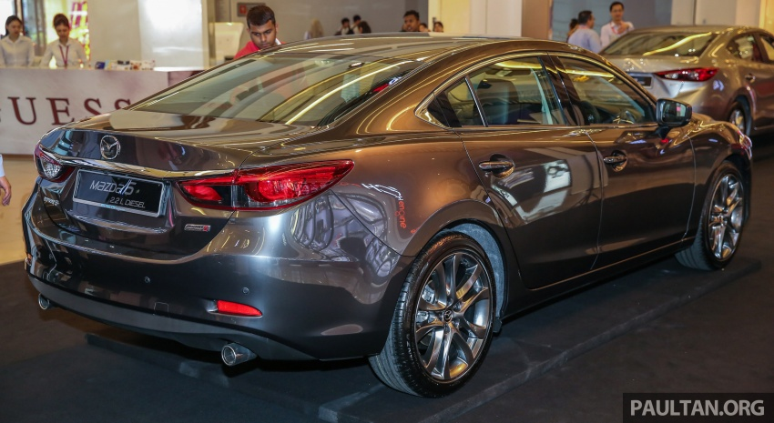 2017 Mazda 6 on sale in Malaysia – adds G-Vectoring Control, RM6,553 more expensive across the range Image #615750