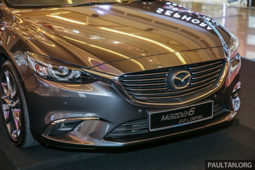 2017 Mazda 6 on sale in Malaysia – adds G-Vectoring Control, RM6,553 more expensive across the range Image #615756
