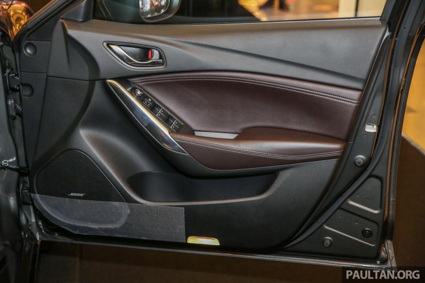 Mazda 6 2017 tiba di Malaysia – dapat tambahan sistem G-Vectoring Control, harga meningkat RM6,553 Image #615959