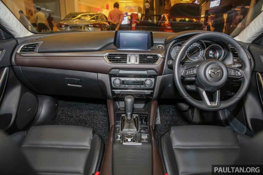 Mazda 6 2017 tiba di Malaysia – dapat tambahan sistem G-Vectoring Control, harga meningkat RM6,553 Image #615943