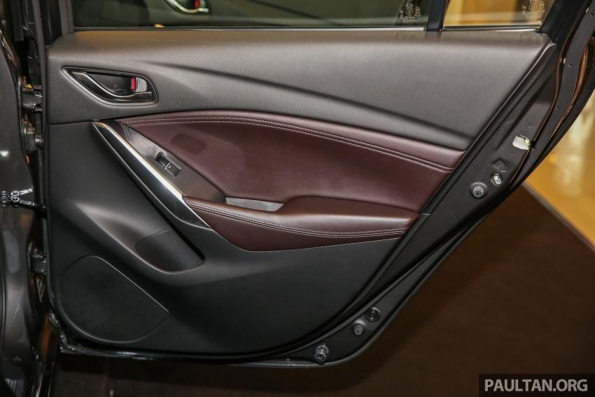 Mazda 6 2017 tiba di Malaysia – dapat tambahan sistem G-Vectoring Control, harga meningkat RM6,553 Image #615967