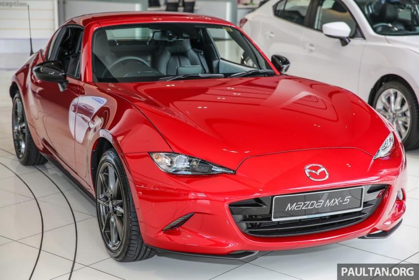 Mazda MX-5 RF sudah berada di Malaysia – 2.0 L, pilihan transmisi manual , dijangka cecah RM250k Image #616425