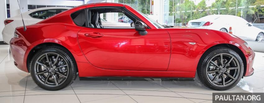 Mazda MX-5 RF sudah berada di Malaysia – 2.0 L, pilihan transmisi manual , dijangka cecah RM250k Image #616436