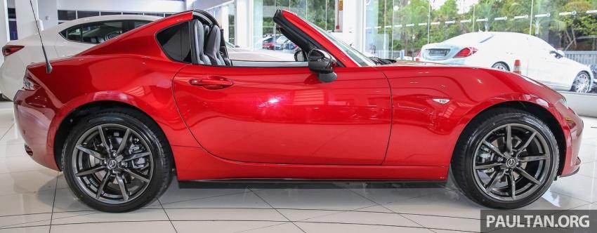Mazda MX-5 RF sudah berada di Malaysia – 2.0 L, pilihan transmisi manual , dijangka cecah RM250k Image #616437