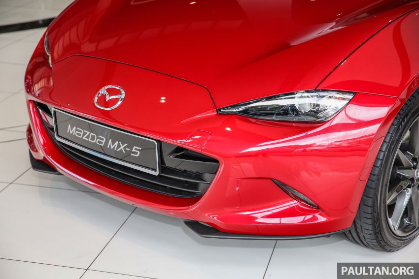 Mazda MX-5 RF in Malaysia – 2.0L, auto and manual Image #616353