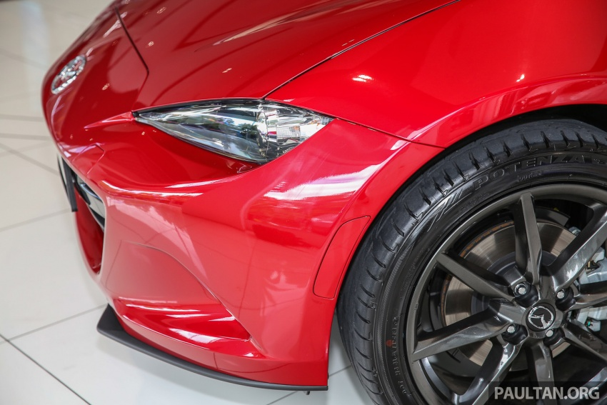 Mazda MX-5 RF sudah berada di Malaysia – 2.0 L, pilihan transmisi manual , dijangka cecah RM250k Image #616440