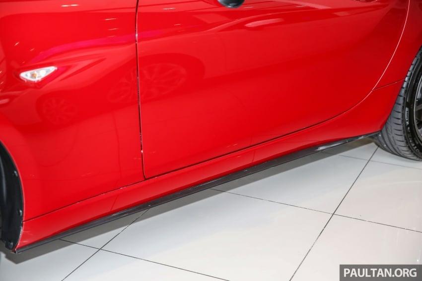 Mazda MX-5 RF sudah berada di Malaysia – 2.0 L, pilihan transmisi manual , dijangka cecah RM250k Image #616444
