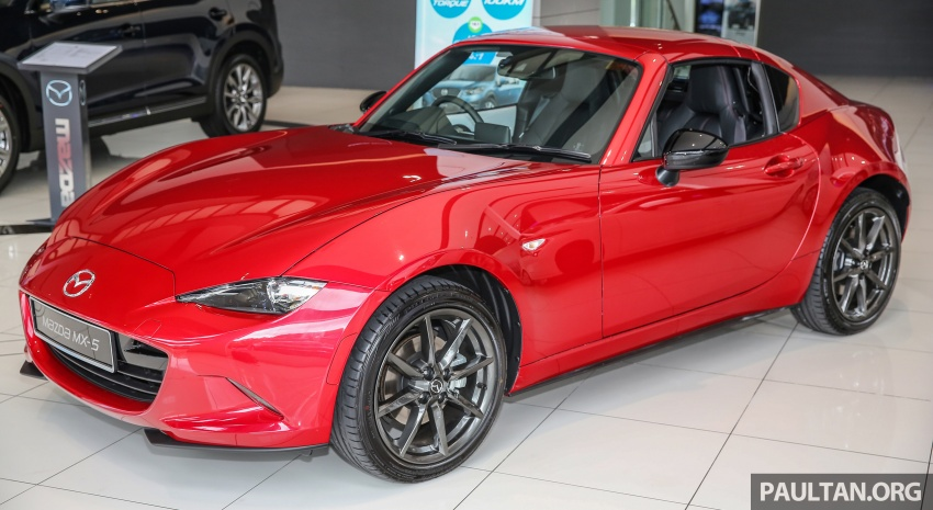 Mazda MX-5 RF in Malaysia – 2.0L, auto and manual Image #616340