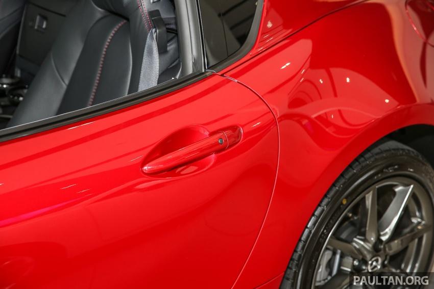 Mazda MX-5 RF sudah berada di Malaysia – 2.0 L, pilihan transmisi manual , dijangka cecah RM250k Image #616446
