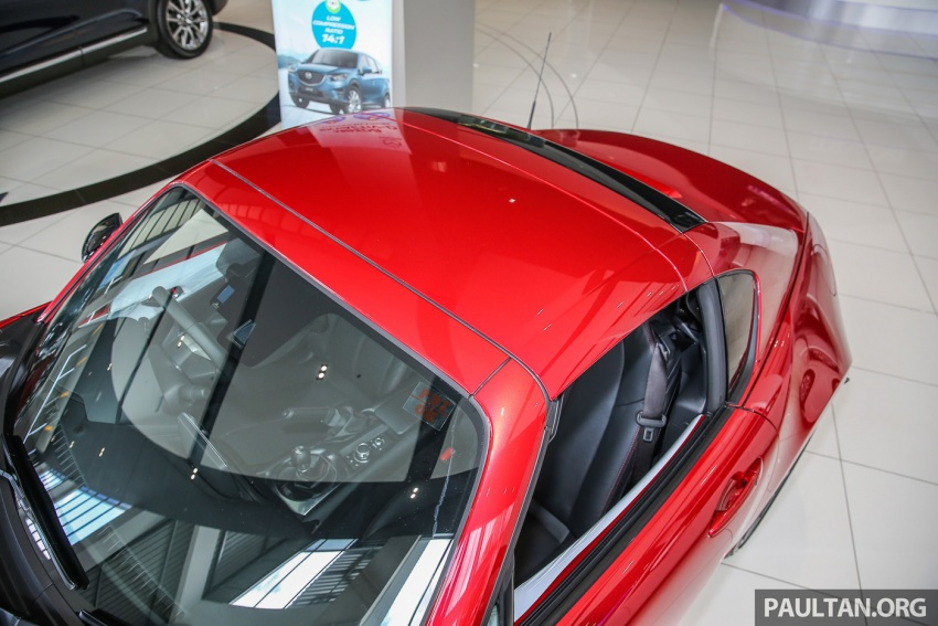 Mazda MX-5 RF sudah berada di Malaysia – 2.0 L, pilihan transmisi manual , dijangka cecah RM250k Image #616448