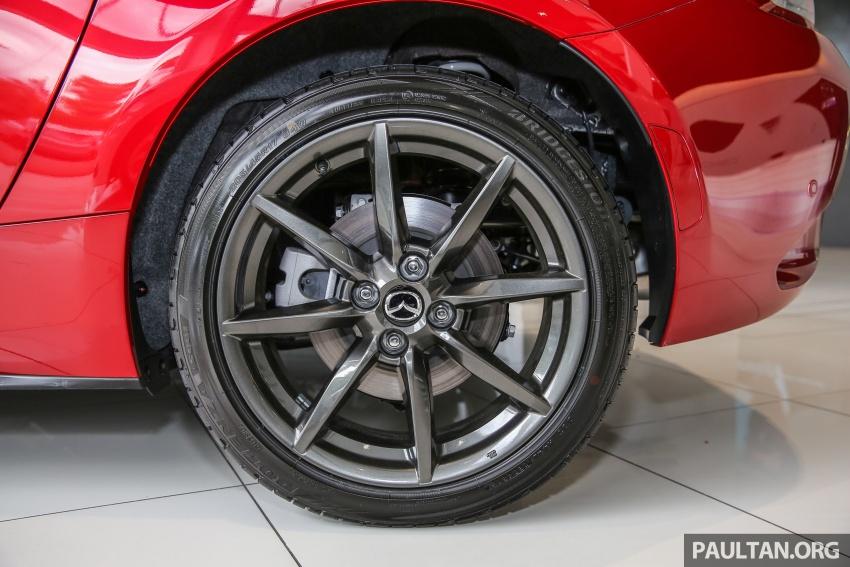 Mazda MX-5 RF in Malaysia – 2.0L, auto and manual Image #616365